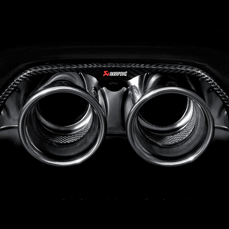 Porsche 911 GT3/RS (997 FL) 4.0 Slip On Line Titanium Exhaust System