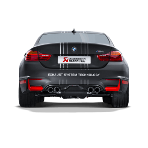 BMW M4 (F82,F83) Slip-On Line Exhaust System