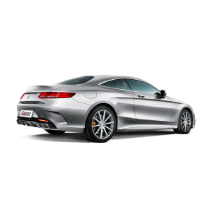 Mercedes S 63 Coupe (C217) Evolution Line Titanium Exhaust System
