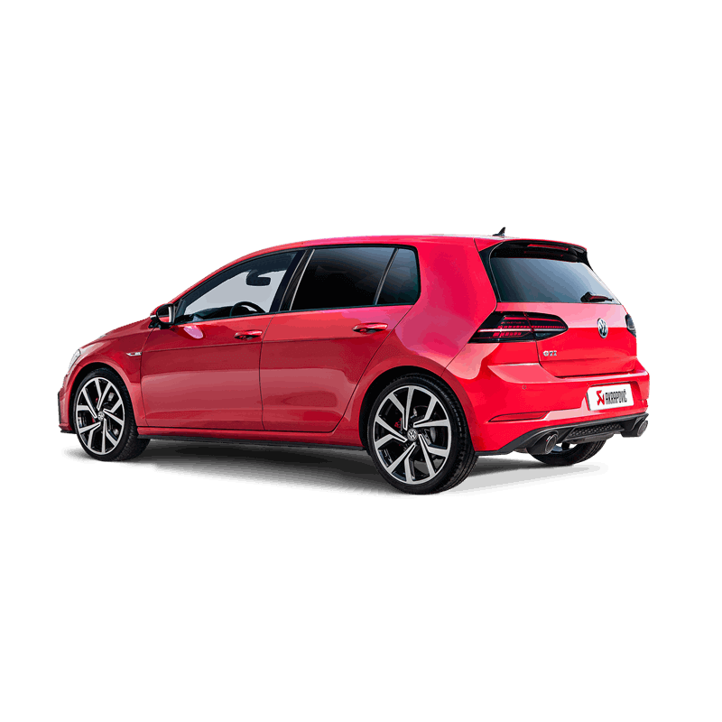 volkswagen golf vii gti fl 169kw akrapovic slip on. Black Bedroom Furniture Sets. Home Design Ideas